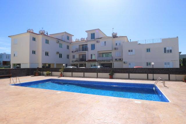 1 bedroom, 1 bathroom,  first floor apartment with Title Deeds issued in Central Paralimni - KCP109